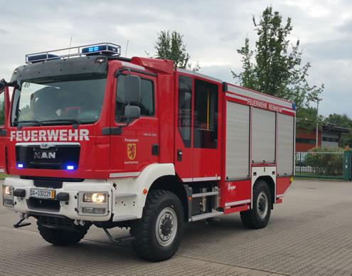 Staffellöschfahrzeug Feuerwehr Reinheim